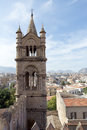 On the roof of Palermo cathedral Royalty Free Stock Photo