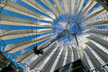 Roof at Potsdamer Platz Royalty Free Stock Photography