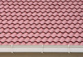 Roof and rain gutter Royalty Free Stock Photos