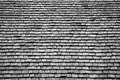 Roof shingles cedar wood texture and pattern Stock Images