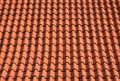 Roof shingles, orange tiles background Stock Photography