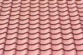 Roof shingles tiles house on a closeup Stock Photos