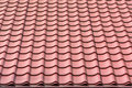 Roof shingles tiles house on a closeup Royalty Free Stock Images