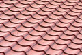 Roof shingles tiles house on a closeup Royalty Free Stock Photos