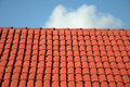 Roof and sky Royalty Free Stock Photo