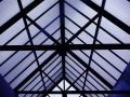 Roof structure Stock Image