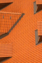 Roof and surfaces architectural czech republic Stock Photos