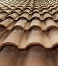 Roof Tile Stock Image
