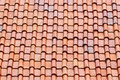 Roof tile as background or texture Royalty Free Stock Photo