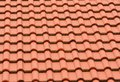 Roof tile background from the orange Royalty Free Stock Photography