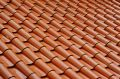 Roof tile pattern Stock Photos