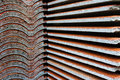 Roof tile stack Royalty Free Stock Images