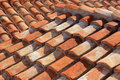 Roof of tiles Royalty Free Stock Images