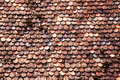 Roof tiles Background Royalty Free Stock Photo