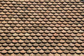 Roof tiles close up view at the Stock Images