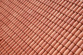 Roof tiles new red ceramic Royalty Free Stock Images