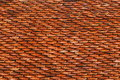 Roof with tiles for pattern it is Stock Photos