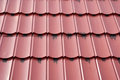 Roof tiles pattern and texture of Royalty Free Stock Image