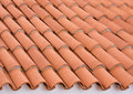 Roof tiling tile background close up Royalty Free Stock Photos