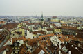 Roof top view of Prague Royalty Free Stock Photo