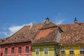 Roof tops of the citadel of sighisoara romania Royalty Free Stock Photography