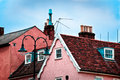 Roof tops of Lavenham Royalty Free Stock Photo