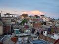 Roof tops of Santiago de Cuba Royalty Free Stock Photo