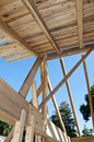 Roof & Trusses Royalty Free Stock Image
