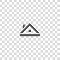 Roof vector icon