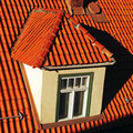 Roof window Royalty Free Stock Photo