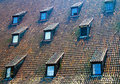 Roof windows Royalty Free Stock Photos