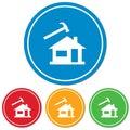 Roofer / slater icon