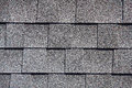Roofing Shingles gray sand shake tab style pattern Royalty Free Stock Photo