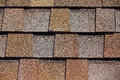 Roofing Shingles shake flat tab style pattern Royalty Free Stock Photo