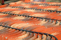 Roofing Tiles Royalty Free Stock Photo