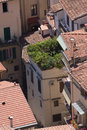 Roofs of aged city Royalty Free Stock Photography