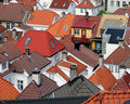 Roofs beautiful and colorful view of Royalty Free Stock Photos