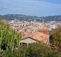 The Roofs of Cannes, Cote d`Azur, Provence France Royalty Free Stock Photo