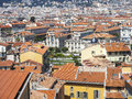 Roofs of the city of Nice Royalty Free Stock Photo