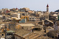 Roofs of Kerkyra, the capital of Corfu, greece Royalty Free Stock Image