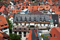 Roofs of Konstanz Stock Photography
