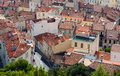 Roofs marseille Royalty Free Stock Photo