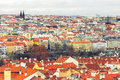 Roofs of Old Town Prague Royalty Free Stock Photography