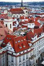 Roofs of Prague Stock Images