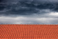 Roofs for protection against rain Royalty Free Stock Photo