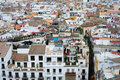 Roofs of Sevilla Stock Photography