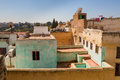Roofs and terraces in Fes Medina, Morocco