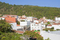 Roofs of vilaflor tenerife village canary islands spain Stock Images