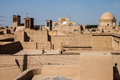 Roofs of yazd in iran Royalty Free Stock Image