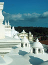 Rooftop domes Cathedral  Leon Nicaragua Central America Royalty Free Stock Photo